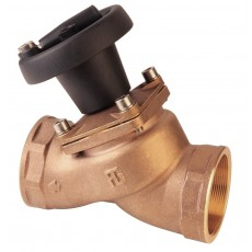 "Threaded ""non stick"" valve with position indicator"